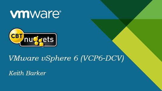 CBT Nuggets VMware VSphere 6 (VCP6-DCV)