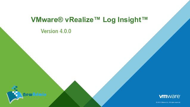 دانلود بسته کامل VMware 6.5 - 4.0.0 VMware vRealize Log Insigh